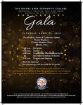 50th Anniversary Gala Invitation by DMACC Marketing