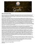 50th Anniversary Gala - President Denson's Thank You