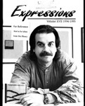 Expressions 1994-1995 by Paul Micich, Bahria Amatullah, Mary Biesk, Greg Fordyce, Ann Presley, Taiyon Coleman, William Durst, Grace Tripp, Kitty Jacobson, Tera Begeest, Jan Davis, David Bettes, Matt Van Wewick, Marjean Tryon, Todd Kneller, Stacy Bumbaugh, Joy Aunan, and April Walker