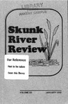 Skunk River Review January 1992, vol 3 by Linda Kloss-Fitzgibbon, Frances Evans, Ed Moreland, Anita M. Worthington, Brinda Cassidy, Aaron Smith, Gail Nelson, Catherine Murphy, Jan Ferguson, Denise Farr, Kelly Green, Christian Mueller, Kimberly Manthei, Ron Jones, Karen Ortberg, Karen Jenkinson, Nancy Arthur, Jenifer Moses, Elisha M. O'Bannon, Marcia Stamper, Shannon L. Haus, Phillip Morgan, and Christine Flynn