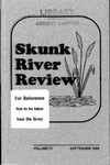 Skunk River Review September 1992, Vol 4 by Kathleen Lynch, Anita L. Williams, Kent Redenius, Lesley Mienke, Veronica Wheeland, Hazel R. Salyers, Michael Kallhoff, Tamy Sanford, Kimberly Martin, Amy Higginbottom, Penni M. Kuhl, Merrill J. Nurnberg, Judy Sohn, Mike Gales, Cathy Fisher, Diana Leonard, Craig Pierson, Derek Morris, Joanna McCaffery, and Dick Rodda
