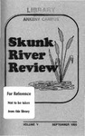 Skunk River Review September 1993, vol 5 by Chuan-Yi Williams, Paula Green, Jeannie Hutzel, Barbara M. Johnson, Dan Small, Mary A. Jardine, Renate Hippen, Matt J. Bowersox, Sally Sparks, Laura Aust, Lori Stuart, Casey Collins, Karen Leonard, Lisa Carpenter, Dan J. Small, Craig Buscher, Judy Sohn, Amanda Svec, Jeanette Peddicord, and Donna Kellam