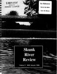Skunk River Review Autumn 1994, vol 6