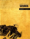 Words Volume 1 2007-2009